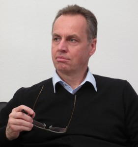 Wolfgang Klinger, nachdenklich